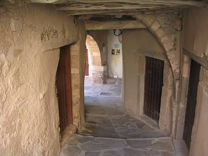 Inside the Venetian Castle, Old Naxos Town