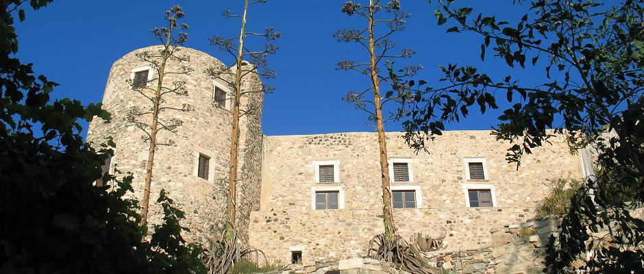 Naxos Old Town, the Venetian Castle