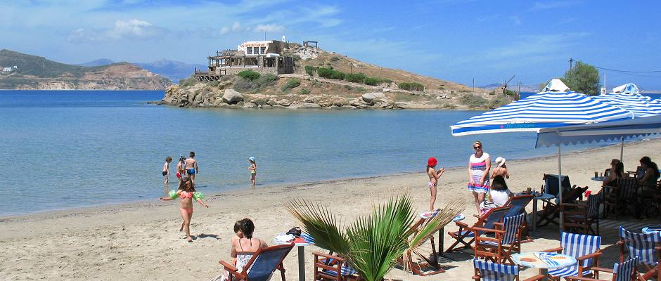 Naxos Saint George Beach